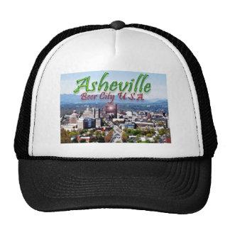 Ciudad los E.E.U.U. de la cerveza de Asheville Gorro De Camionero