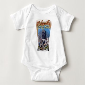 Ciudad los E.E.U.U. de la cerveza de Asheville Mameluco De Bebé