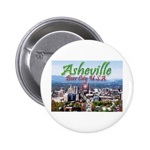 Ciudad los E.E.U.U. de la cerveza de Asheville Pin