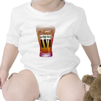 Ciudad los E.E.U.U. de la cerveza de Asheville Trajes De Bebé