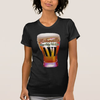 Ciudad los E.E.U.U. de la cerveza de Asheville Remera