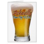 Ciudad los E.E.U.U. de la cerveza de Asheville Tarjetas
