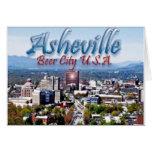 Ciudad los E.E.U.U. de la cerveza de Asheville Felicitaciones