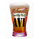 Ciudad los E.E.U.U. de la cerveza de Asheville Postal