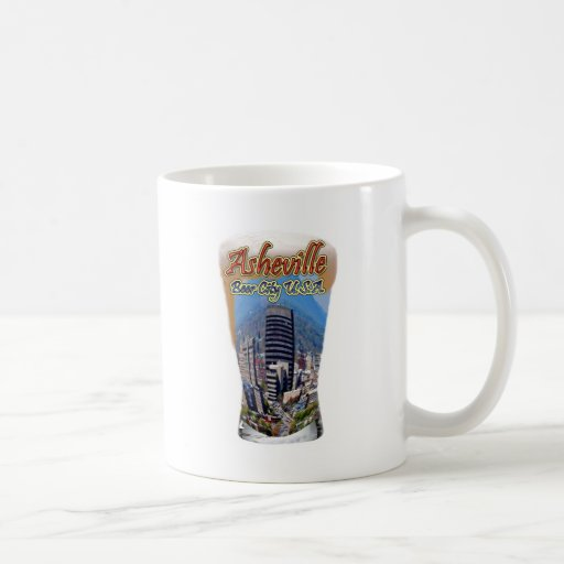 Ciudad los E.E.U.U. de la cerveza de Asheville Taza