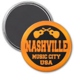 Ciudad los E.E.U.U. de la música de Nashville Imán