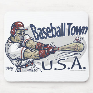Ciudad los E.E.U.U. Mousepad del béisbol