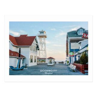 Ciudad Maryland del océano Postales