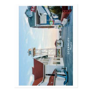 Ciudad Maryland del océano Tarjetas Postales