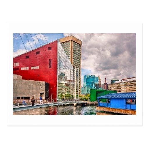 Ciudad - MD de Baltimore - lugar del puerto - ciud Postal