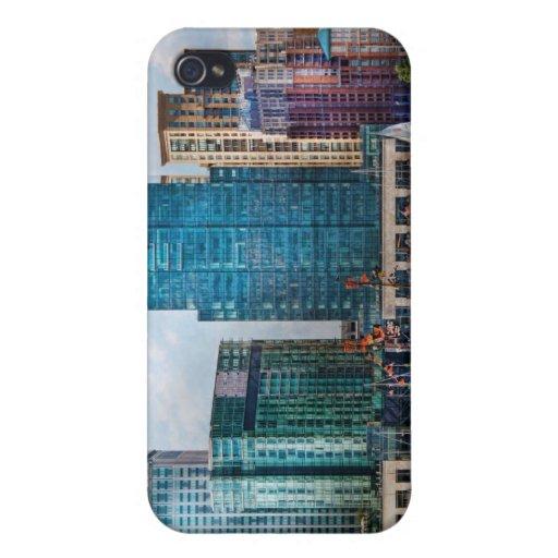 Ciudad - MD de Baltimore - puerto del este iPhone 4/4S Carcasas
