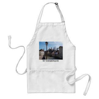 Ciudad medieval del St Volres Church& Delantal