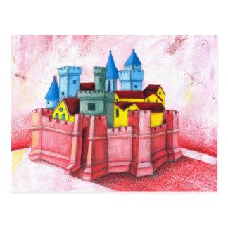 Ciudad medieval postales