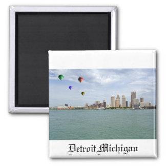 Ciudad Michigan de Detroit Iman De Frigorífico