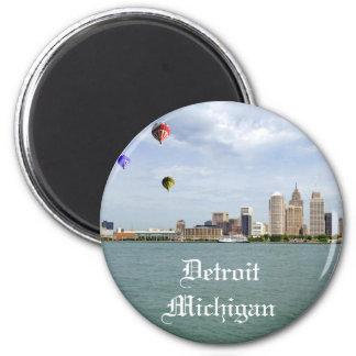 Ciudad Michigan de Detroit Imán