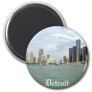 Ciudad Michigan de Detroit Imán De Nevera