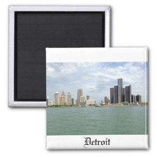 Ciudad Michigan de Detroit Imán Para Frigorifico