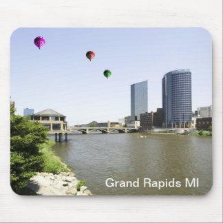 Ciudad Michigan de Grand Rapids Alfombrilla De Ratón