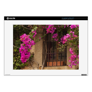 "Ciudad Monumental, flower-covered buildings Decals For 15"" Laptops"