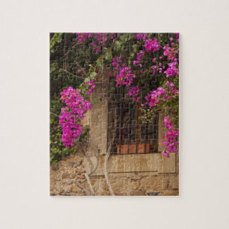 Ciudad Monumental, flower-covered buildings Jigsaw Puzzle