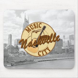 Ciudad Mousepad de la música de Nashville