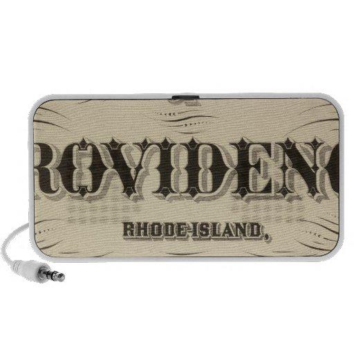 Ciudad muy temprana de Johnston Rhode Island Hopki iPhone Altavoces
