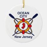 Ciudad NJ del océano Adornos De Navidad