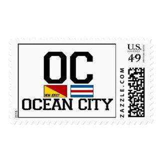 Ciudad NJ. del océano Sello