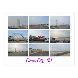 Ciudad NJ del océano Postal