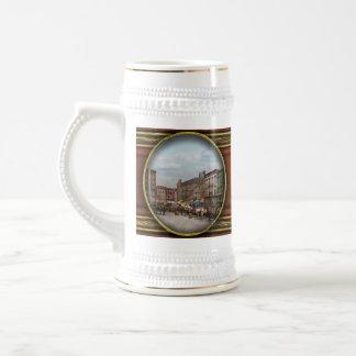 Ciudad - Norfolk Va - hardware y licor - 1905 Jarra De Cerveza