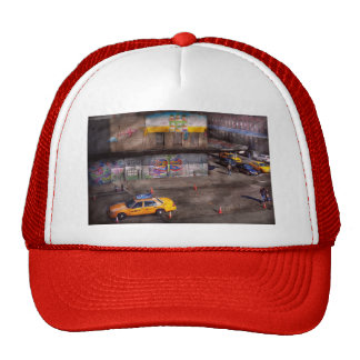 Ciudad - Nueva York - Greenwich Village - el color Gorras De Camionero