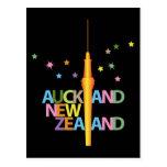 Ciudad Nueva Zelanda de Auckland Tarjeta Postal