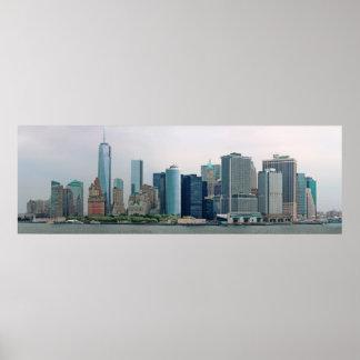 Ciudad - NY - el distrito financiero Impresiones