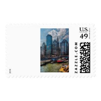Ciudad - NY - la nueva ciudad Franqueo