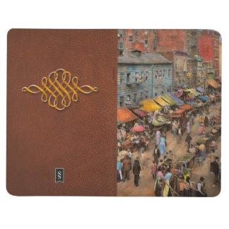 Ciudad - NY - mercado judío en la zona este 1890 Cuadernos