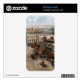Ciudad - NY - puerto del sur de la calle - 1901 Skins Para eliPhone 4S