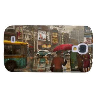 Ciudad - NY - Times Square en un día lluvioso 1943 Carcasa Para Galaxy S4