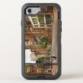 Ciudad - PA de Pittsburgh - que corre tarde Funda OtterBox Defender Para iPhone 7