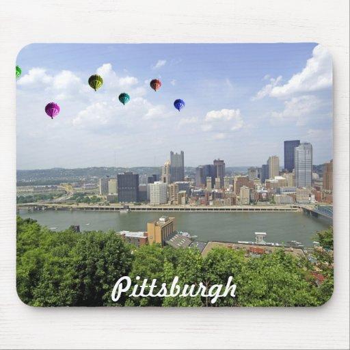Ciudad Pennsylvania de Pittsburgh Alfombrillas De Raton