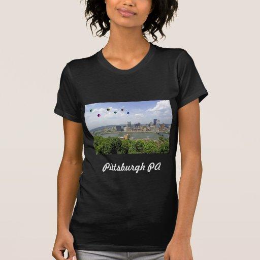 Ciudad Pennsylvania de Pittsburgh Camisetas