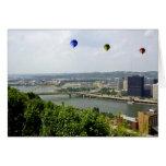 Ciudad Pennsylvania de Pittsburgh Felicitacion