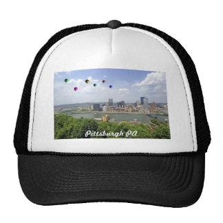 Ciudad Pennsylvania de Pittsburgh Gorros Bordados
