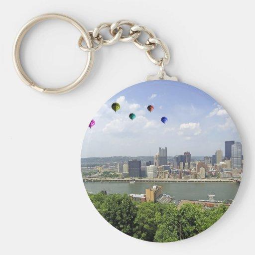 Ciudad Pennsylvania de Pittsburgh Llavero Personalizado