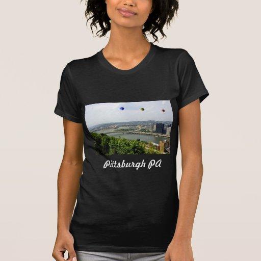 Ciudad Pennsylvania de Pittsburgh Playeras