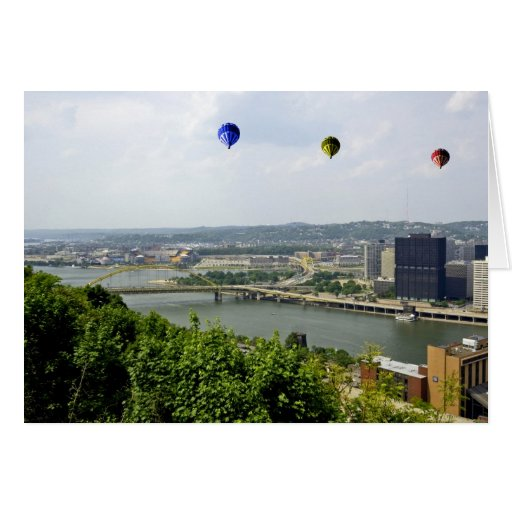 Ciudad Pennsylvania de Pittsburgh Tarjeta De Felicitación