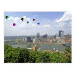 Ciudad Pennsylvania de Pittsburgh Tarjeta Postal