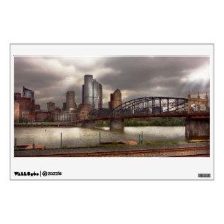 Ciudad - Pittsburgh, PA - puente de Smithfield