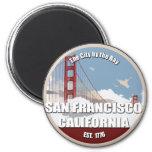Ciudad por la bahía, San Francisco California Imán Para Frigorifico
