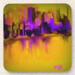 Ciudad púrpura posavasos