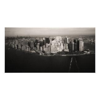 Ciudad que nunca duerme tarjetas fotográficas